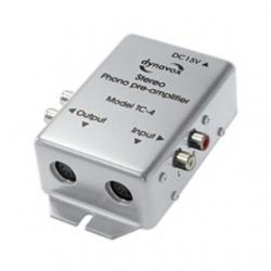 Preamplificatore Phono MM TC-4 stereo Argento