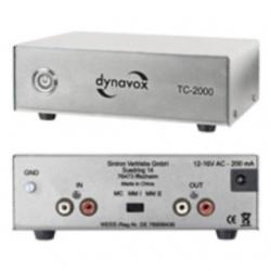 Preamplificatore Phono MM/MC Dynavox TC-2000 Argento