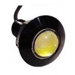 Segnalatore luminoso a LED metallico 12 V Bianco Freddo 2 W