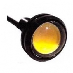 Segnalatore luminoso a LED metallico 12 V Bianco Caldo 2 W