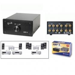 Selettore amplificatore/casse AMP-S Dynavox Nero
