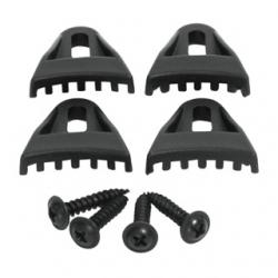 Attacchi per griglia di protezione set 4 pezzi
