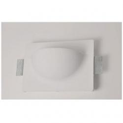 Supporto in gesso da parete a scomparsa per lampade LED - MW 8501