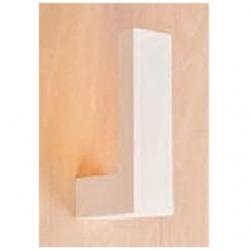 Supporto in gesso a parete da esterno muro per lampade LED - MW 8437