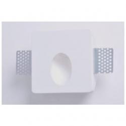 Supporto in gesso da parete a scomparsa per lampade LED - MW 9430
