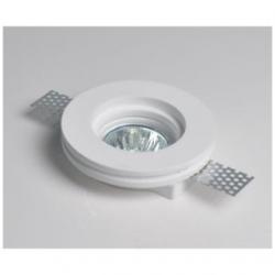 Supporto in gesso rotondo da incasso per lampade LED - MC 9222R