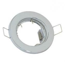 Ghiera per lampade alogene MR-16  Cromata