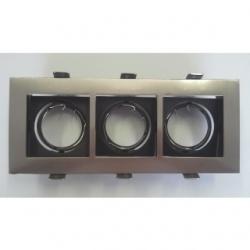 Supporto per lampadine LED MR16 VENEZIA CROMATO/3