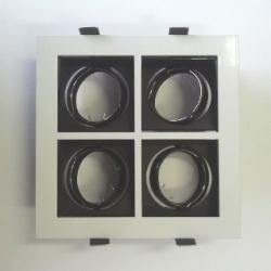 Supporto per lampadine LED MR16 VENEZIA BIANCO/4