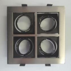 Supporto per lampadine LED MR16 VENEZIA CROMATO/4
