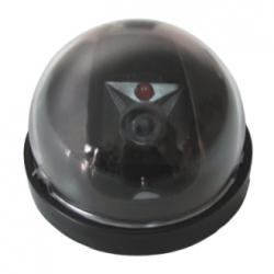 Telecamera finta mini dome con led