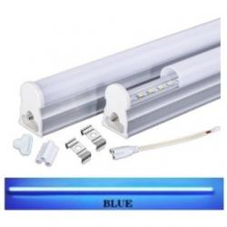 Tubo neon T5 16 W a LED SMD 2835 1.20 mt. Blu