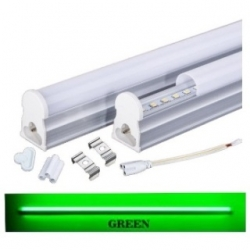 Tubo neon T5 16 W a LED SMD 2835 1.20 mt. Verde