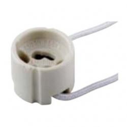 Zoccolo ceramico per lampada GU10